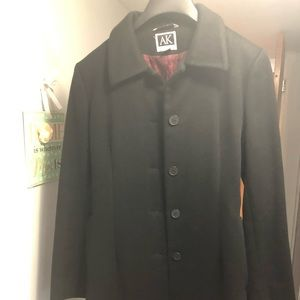 EUC wool very flattering winter coat